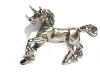 Galloping Unicorn Pewter Figurine - Lead Free