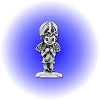 Young Praying Angel Pewter Figurine - Lead Free