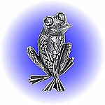 Magical Frog Pewter Figurine - Lead Free