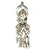 Sterling Silver Praying Girl Cherub Charm Pendant