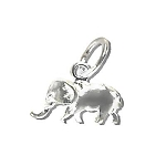 Sterling Silver Elephant Pendants