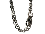 Stainless Steel 22 Inch 3mm Oval Link Neck Chain Necklace