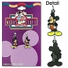 Mickey Mouse  Earrings Surgical Steel Post