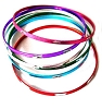 Mixed Color Aluminum Bracelet 2 3/16 Inch diameter