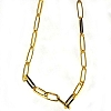 Goldtone 20 inch link Neck Chain