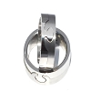Men's 316L Stainless Steel Interlocking Jigsaw Puzzle 8 mm Band Ring