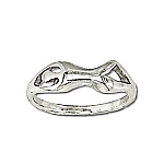 Sterling Silver Kama Sutra Boogie Lover Rings