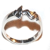 Sterling Silver Kama Sutra Naked Lady Ring