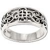 Sterling Silver Filigree Moorish Design Ring