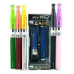 E Cigarette Twist Starter Kit Ego-C  With Gs H2 Atomizer 650MAH