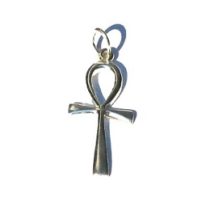 Sterling Silver Ankh Pendant