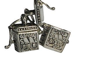 Bible Prayer Box Charms Pendants