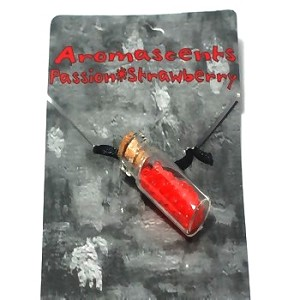 Aroma Scent Therapy Bottle Necklaces