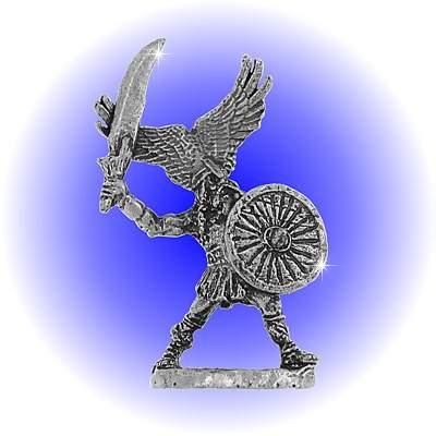 Fantasy Viking Lead Free Pewter FIGURINE