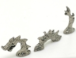 New Tiny Ogopogo Loch Ness Monster Sea Serpent Pewter Figurine - Lead Free