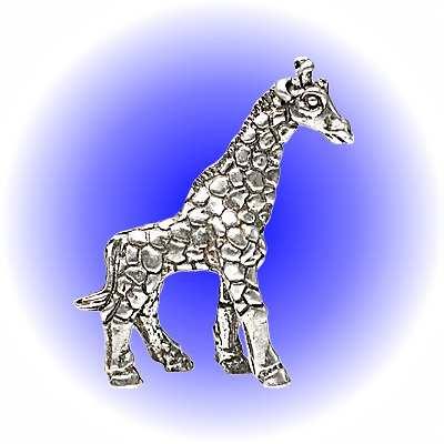 Giraffe Pewter FIGURINE - Lead Free