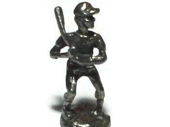 Baseball Batter Lead Free Pewter FIGURINE