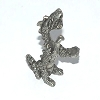 Attacking Dragon pewter figurine - Lead Free.