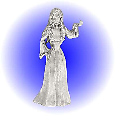 Wiccan Pewter FIGURINE - Lead Free