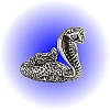 Striking Cobra Snake Pewter Figurine - Lead Free