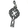 Sterling Silver Celtic Filigree Cross Pendant