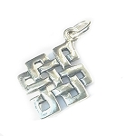 Sterling Silver Celtic Infinity Knot Pendant