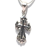 Sterling Silve Filigree Calatrava Cross Pendant