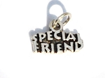 Sterling Silver Special Friend Pendant Charm