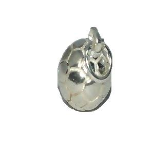 Sterling Silver SOCCER Ball charm pendant.