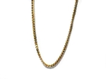 925 Sterling Silver Vermeil 18 Inch 1.2 mm Box Neck Chain Necklace