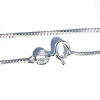 Sterling Silver 24 inch 1.1mm Neck Chain
