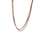 18k Rose Gold Vermeil Overlay on Sterling Silver Neck Chain