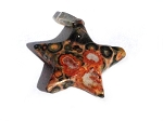 Hand carved Star Stone Pendants Sold by the piece