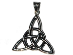Stainless Steel Celtic Triquetra Trinty Knot Pendant