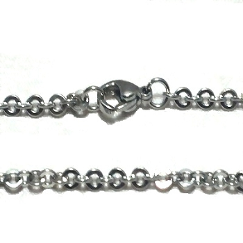 Stainless Steel 20 Inch 2mm Link Neck Chain Necklace