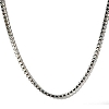 Stainless Steel 24 Inch 1.5mm Box Neck Chain Necklace
