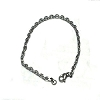 Stainless Steel 7 7/8 inch link Chain Bracelet