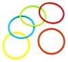 Stretchable Colorful Rubber Bracelets made with silicone elastic cord sold by the piece