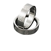 Men's 316L Stainless Steel Band with screw design