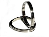 Men's 316L Stainless Steel 3 corners 4mm Ring Band.