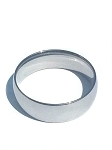 Stainless Steel Smooth 7 mm Band Ring
