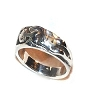 Sterling Silver Kama Sutra Lover Lady Waiting Ring