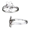 Sterling Silver Dragonfly Open Rings