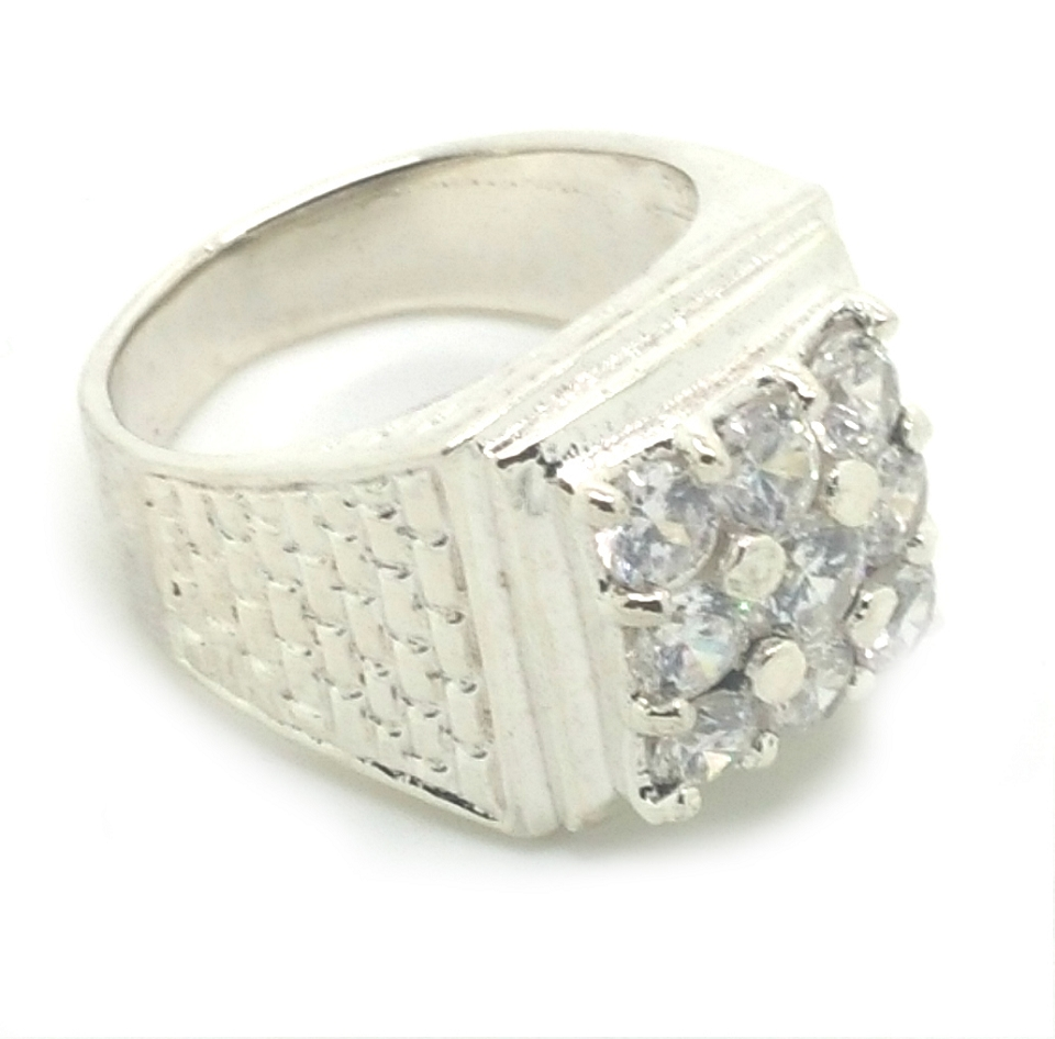 Sterling Silver Pinky Ring Men