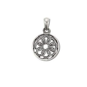 Sterling Silver Celtic sheild Pendant