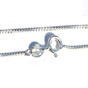 Sterling Silver 22 inch 1.1 mm Neck Chain