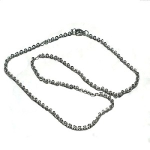 Stainless Steel 16 Inch 2mm Link Neck Chain Necklace