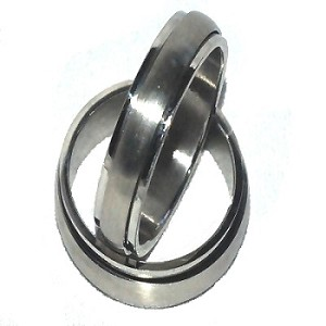 316L Stainless Steel 6mm Smooth Spinner Ring